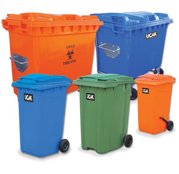 uçak-plastik-çöp-konteynerleri
